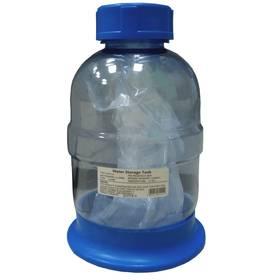 Накопительный бак пластиковый (объем 1,5 Gal ) прозрачный, фото 1