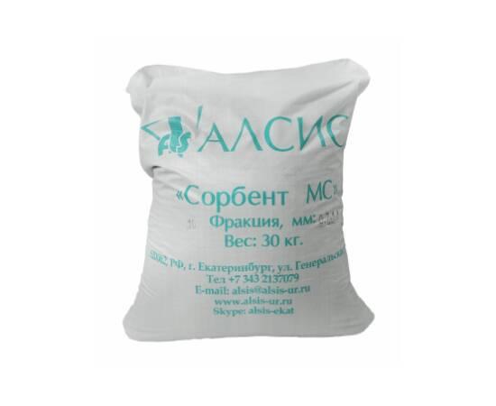 Сорбент МС для удаления железа и марганца, фракция 0,7-1,4 мм, мешок 30 кг/22 л.