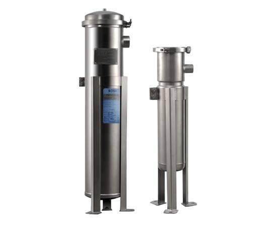 """Мешочный фильтр BFL-2, 30 куб/час, вход 2"""", матовое покрытие"""
