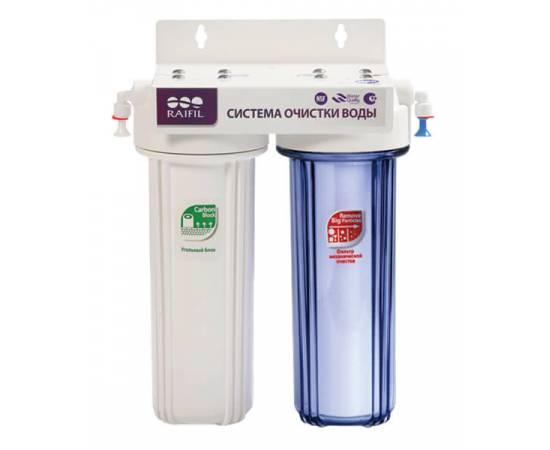 Водоочиститель 2-стадийный под мойку DUO