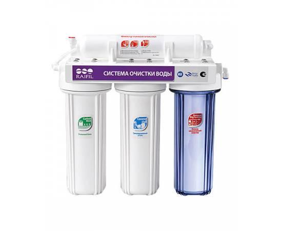 Водоочиститель 4-стадийный под мойку