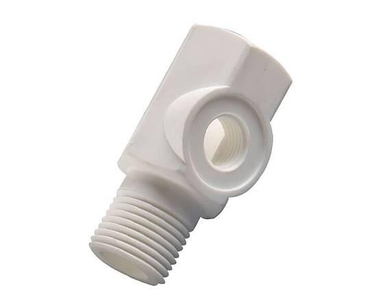 Адаптер для врезки в водопровод, 1\4 JG трубка быстросъемный, пластиковый,, изображение 2