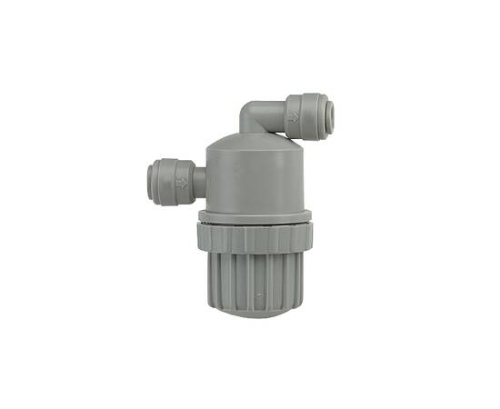 """Фитинг - механический фильтр 1/4"""" трубка - 1/4"""" трубка (DM-Fit)"""