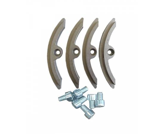 Фиксаторы стальные с винтом к корпусу Mem Shell FRP 8040 (side port)