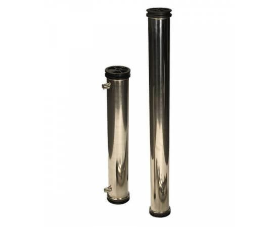 8040-3W Корпус сталь для 3х мембран, боковой порт, без шва, изображение 3