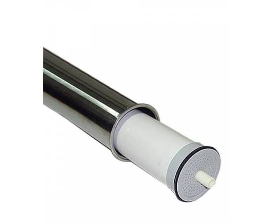 8040-2W Корпус сталь для 2х мембран, боковой порт, без шва